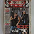 AC/DC - Other Collectable - AC/DC - Black Ice Tour Newspaper