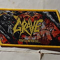 Grave - Patch - Grave - You'll never see... - Woven Patch