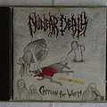 Nuclear Death - Tape / Vinyl / CD / Recording etc - Nuclear Death - Carrion for worm - orig.Firstpress CD