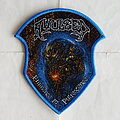 Avulsed - Patch - Avulsed - Eminence in putrescence - Patch Blue Border