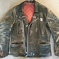 Death - Battle Jacket - Old leather jacket