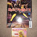 Iron Maiden - Other Collectable - Iron maiden hard n heavy mag with c.d