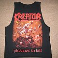 TShirt or Longsleeve - Kreator - pleasure to kill cut-off shirt