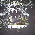 Metalcamp 2010 - TShirt or Longsleeve - Metalcamp 2010 festival, band line-up shirt