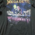 Megadeth - rust in peace, euro tour 90 TShirt or Longsleeve