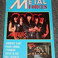Metal Forces Issue No. 10 Anthrax Other Collectable
