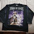 Cradle of Filth OG 1997 Millenial war LS BRAND NEW!!!