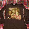 "Cannibal corpse ""Gallery of suicide"" uncensored tour longsleeve"