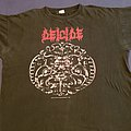 Deicide 1990 Sacrificial Tour shirt