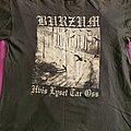 "Burzum - TShirt or Longsleeve - Burzum ""Hvis Lyset Tar Oss"" 1994 shirt"