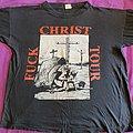 Rotting Christ - TShirt or Longsleeve - Fuck christ 1993 tour original shirt