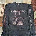 "Bathory - TShirt or Longsleeve - Bathory "" Jubileum "" 1992 Longsleeve"