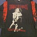 """Cradle of Filth """"Vestal... 1995 Tour"""" first print original longsleeve  TShirt or Longsleeve"""
