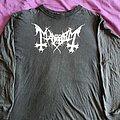 "Mayhem "" original logo"" 1991 longsleeve"