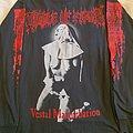 """Cradle of Filth """"Vestal... 1995 Tour"""" original longsleeve  TShirt or Longsleeve"""