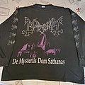 "Mayhem ""De Mysteriis dom Sathanas"" 1994 Longsleeve"