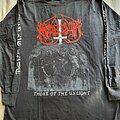 """Marduk - TShirt or Longsleeve - Marduk """" Those of the Unlight """" 1993 Longsleeve"""