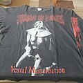 "Cradle Of Filth - TShirt or Longsleeve - Cradle of Filth ""Vestal Masturbation"" 1995 longsleeve"