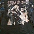 """Cradle of Filth """"Supreme Vampyric Evil"""" 1996 longsleeve  TShirt or Longsleeve"""