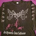 """Mayhem - TShirt or Longsleeve - Mayhem """"De Mysteriis Dom Sathanas"""" 1994 longsleeve"""