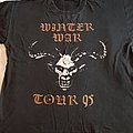 "Marduk - Enslaved ""Winter War"" 1995 tour shirt"