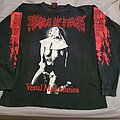 "Cradle Of Filth - TShirt or Longsleeve - Cradle of Filth ""Vestal Masturbation Tour"" 1995 Longsleeve"