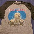 "Iron Maiden ""World Slavery Tour"" original 1984 raglan  TShirt or Longsleeve"