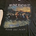 "Bathory - TShirt or Longsleeve - Bathory "" Blood Fire Death "" 1992 shirt"