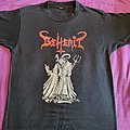 "Beherit - TShirt or Longsleeve - Beherit ""Satanic Brutal Death Metal"" 1991 shirt"