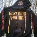 Bleeding Through Hooded Top