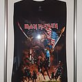 Iron Maiden Maiden England US Tour shirt 2012, signed by Steve Harris