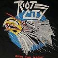 """Riot City- """"Burn The Night"""" shirt"""