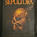"""Sepultura - """"Beneath The Remains"""" Backpatch"""