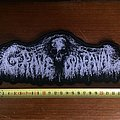 Grave Upheaval oversized grey patch