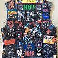 Kiss vest Battle Jacket
