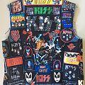 Kiss vest Battle Jacket