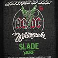 - MONSTERS OF ROCK '81 PATCH