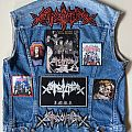 Sarcofago Vest Battle Jacket