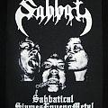 "- SABBAT ""Sabbtical SiamesEnvenoMetal"" BACKPATCH"