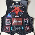 Venom leather vest Battle Jacket