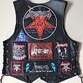 Venom leather vest Battle Jacket