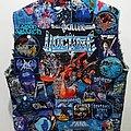 Vulture - Battle Jacket - Blue Possessed