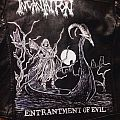 Incantation: Entrantment of Evil hand painted on leather  Battle Jacket
