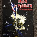 Iron Maiden The Beast on the Road Official BP 1982 Patch
