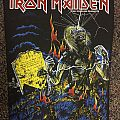 Iron Maiden Live After Death Back Patch Official