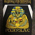 Iron Maiden Powerslave Back Patch. Official