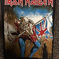 Iron Maiden Trooper BP.  Patch