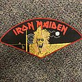 Iron Maiden Early Back Patch