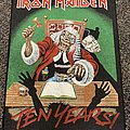 Iron Maiden Ten Years Official Backpatch
