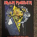 Iron Maiden No Prayer for the Dying Back Patch